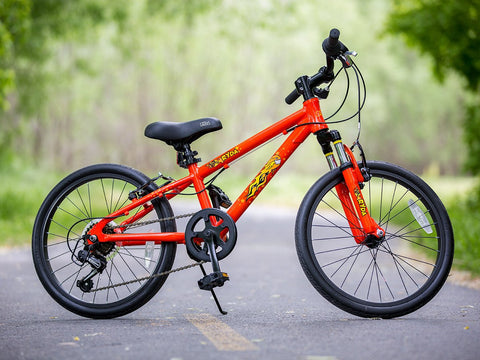 "20"" kids bike Comet 7-Speed Bicycle - Ryda Bikes"