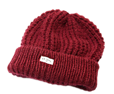 Image of beanie that empowers women