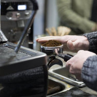 Hands-on barista training