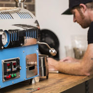 Hands-on coffee roaster training