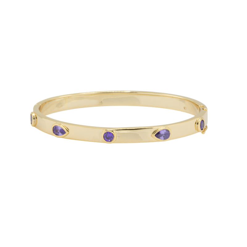 Augusta Hinged Bangle