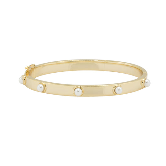 Alexandra Hinged Bangle