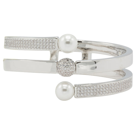 Ava Hidden Hinge Bangle