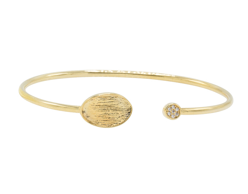 Lumia Twist Bangle