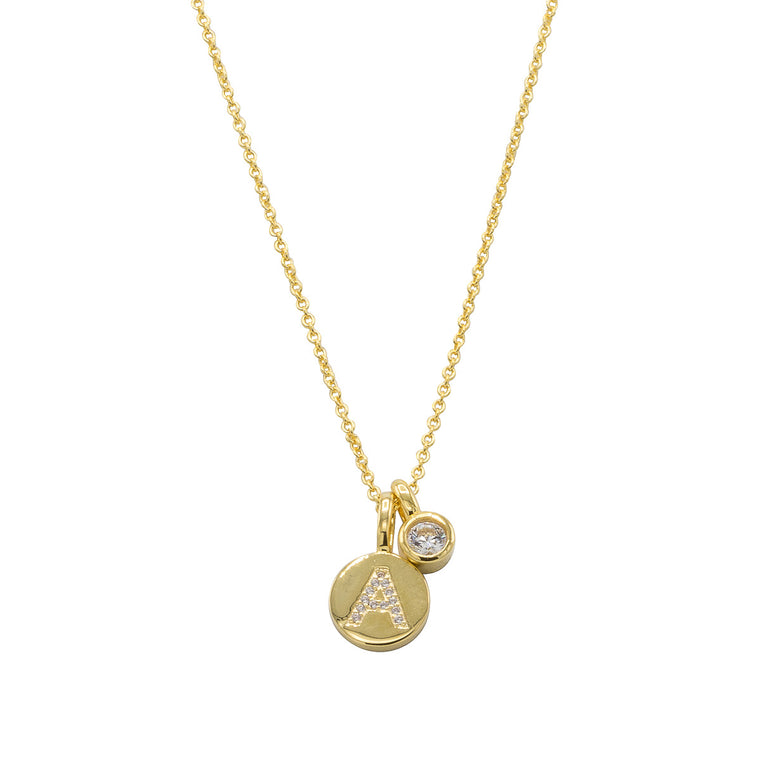 Ella Gold Initial Necklace