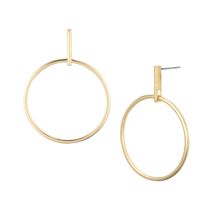 Hester Circle Earring