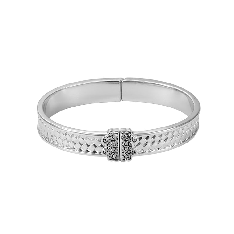 Grace Hinged Bangle