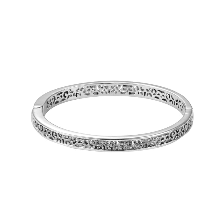 Lillian Hidden Hinge Bangle