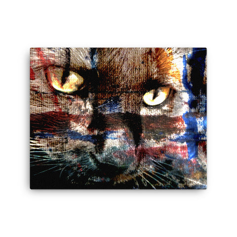 KitKat Abstraction 3 - Canvas Print
