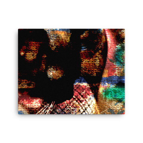 KitKat Abstraction 5 - Canvas Print