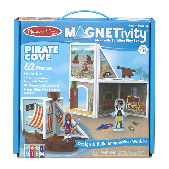 Melissa & Doug Magnetivity Building Play Set - Pirate Cove