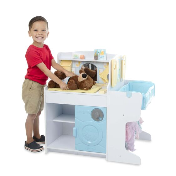 Melissa & Doug Mine to Love Baby Care Activity Center