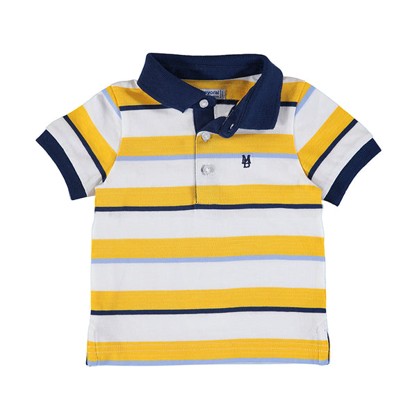 Mayoral Baby Boy Striped Polo