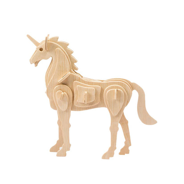 Hands Craft 3D Wooden Puzzle - Unicorn