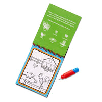 Melissa & Doug Water Wow! ON the GO Travel Activity Water-Reveal Pad