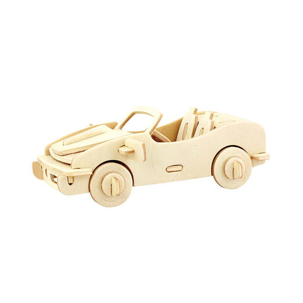 Hands Craft 3D Wooden Puzzle - Racing Car