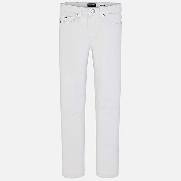Mayoral Basic Slim Fit Twill Pants