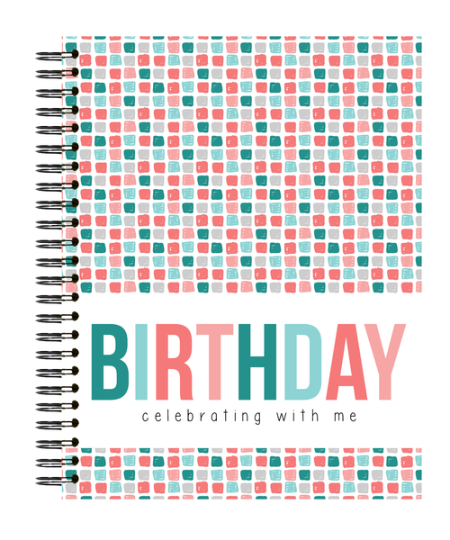 Polka Dot Print Shop Memory Book - Birthday