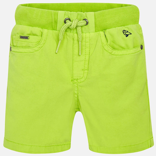 Mayoral Ribbed Waist Shorts
