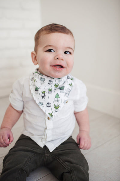 Copper Pearl Bandana Bibs - Urban Collection