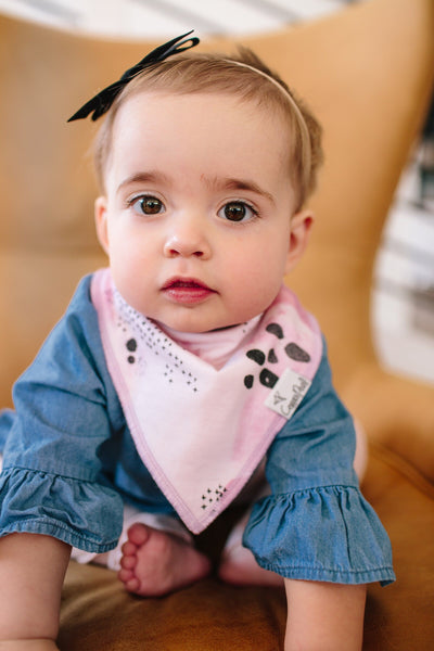 Copper Pearl Bandana Bibs - Sage Collection