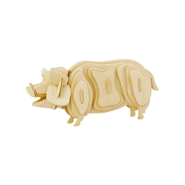 Hands Craft 3D Wooden Puzzle - Pig