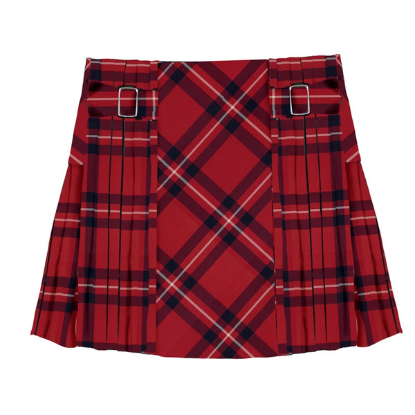 Mayoral Plaid Skirt