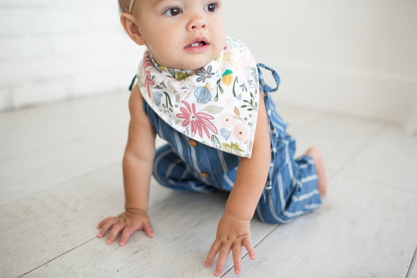 Copper Pearl Bandana Bibs - Olive Collection