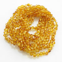 True Baltic Amber Teething Necklace