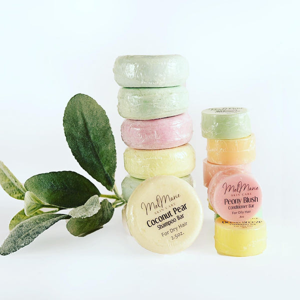 MelMarie Skincare Shampoo & Conditioner Bars