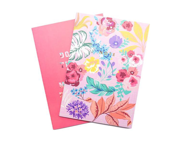 Bewaltz Tropical Florals Softcover Notebooks