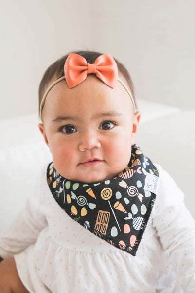 Copper Pearl Bandana Bibs - Wicked Collection