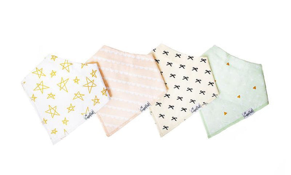 Copper Pearl Bandana Bibs - Paris Collection