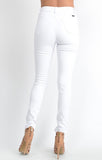 Heavy Distressed White Denim