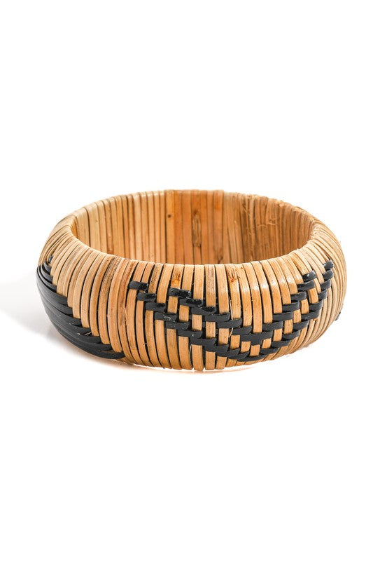 Medium Basket Weave Aztec Bracelet
