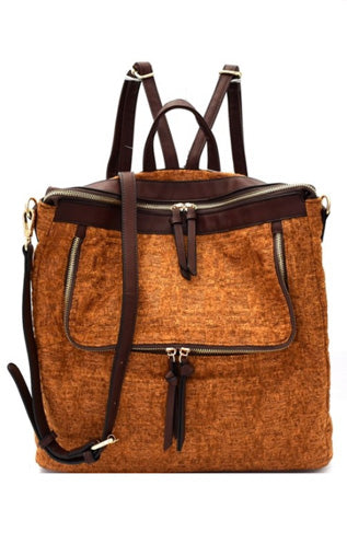 Tweed Backpack