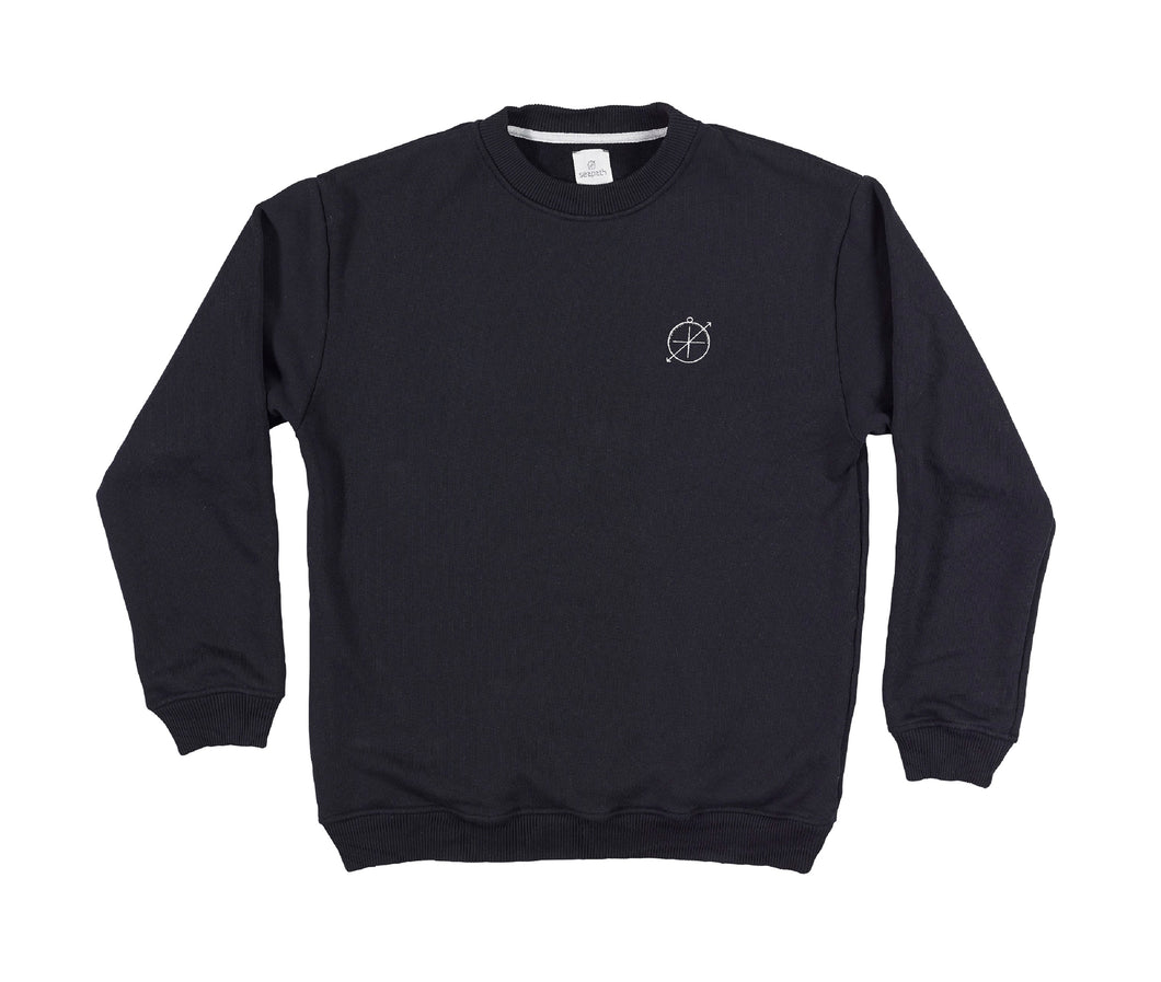 Astrolabe Sweater Men - Black