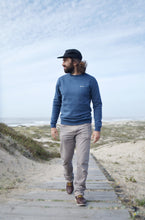 Seapath Sweater - Navy Blue