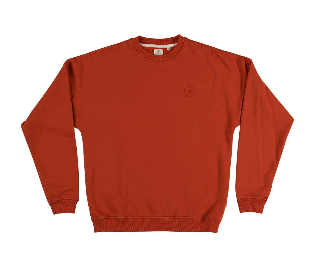 Golden Hour Sweater - Gold Flame