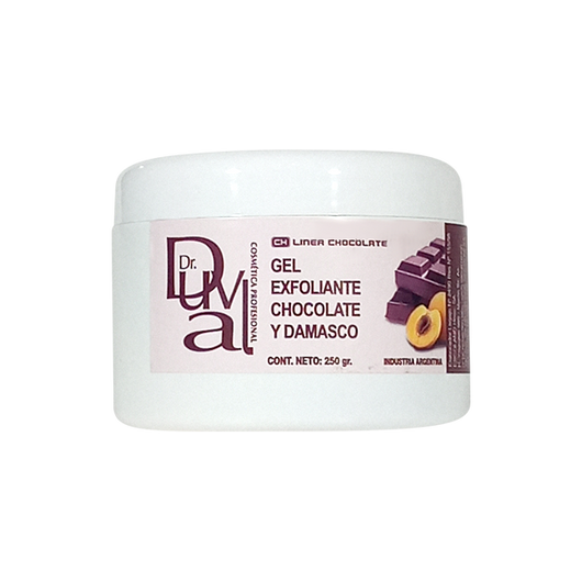 Gel exfoliante chocolate y damasco