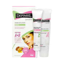 Crema Depilatoria Facial Sensitive