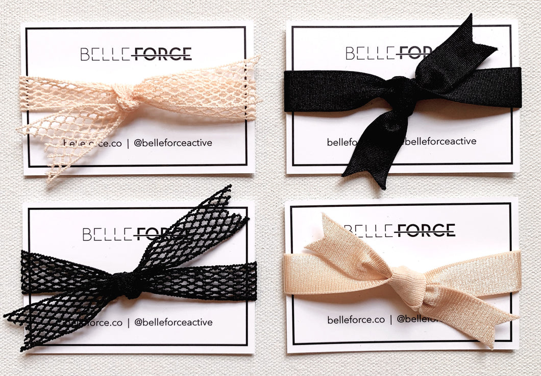 FRENCH ELASTIC HAIRTIE - GIFT SET