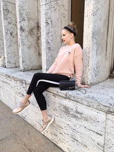 BLUSH BOW PULLOVER