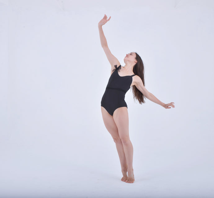 BLACK PRIMA LEOTARD