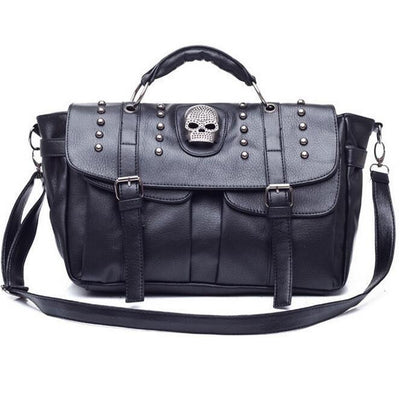 Good Luck88 Shoulder Bags Punk Skull Shoulder Bag