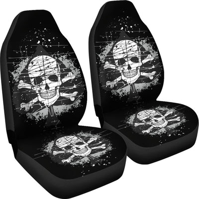 Car Seat Covers Skull Obsession