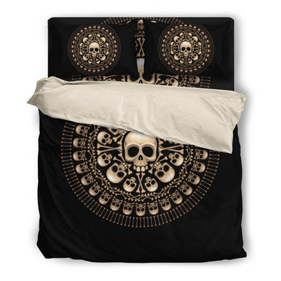 Skull Obsession Skulls & Bones Bedding Set