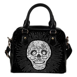 Skull Obsession Black Sugar Skull Handbag ii