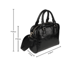 Skull Obsession Gray Skull Handbag