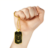 Skull Obsession Jewelry Vintage skull Military Ball Chain